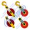 Блоки монтажные однорольные открытого типа (11)