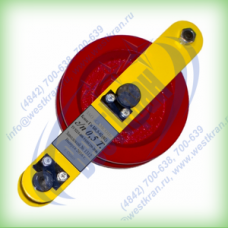 Блок отводной с пальцем Гп-Б-0,5-02(02) г/п 0,5 тонны