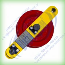 Блок отводной с пальцем г/п: 0,5т. Гп-Б-0,5-02 (02)