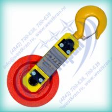 Блок монтажный облегченный с крюком г/п: 1,6т. Гп-Б-1,6-03 (01)