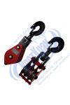 Блок монтажный трехрольный ZK3-50,0 (HQGK3-50) с крюком (г/п 50 тонн)