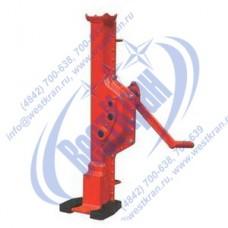 Домкрат реечный SJL10 с низкой лапой г/п 10 тонн (КНР)