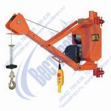 Кран строительный HGS-G200Y-30 220В (0,2т, Вп=30м) (без стойки)
