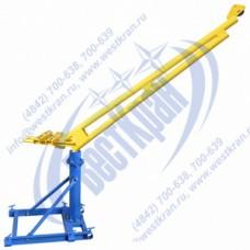 Кран стреловой поворотный ручной ККР-0,5-1,3-2,2 без лебедки и противовесов