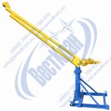 Кран стреловой поворотный ручной ККР-0,5-1,3-3,2 без лебедки и противовесов