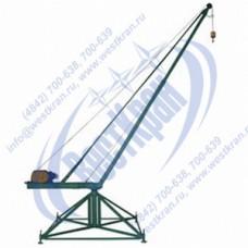 Кран стреловой поворотный КСП-320-55 Мастер 380В Г/п: 0,32т., Lк=55м