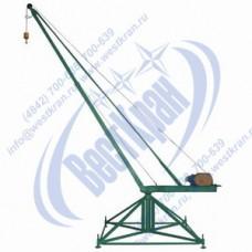 Кран стреловой поворотный КСП-500-100 Мастер 380В Г/п: 0,5т., Lк=100м