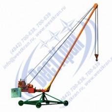 Кран стреловой поворотный ПИОНЕР-500-50,0 380В Г/п: 0,5т., Lк=50м