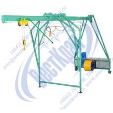 Подъемник строительный Умелец-320-50,0 380В. Г/п: 0,32т., Lк=50м