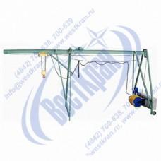 Подъемник строительный Умелец-320-75,0 380В. Г/п: 0,32т., Lк=75м