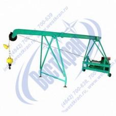 Подъемник строительный Умелец-500-80,0 380В. Г/п: 0,5т., Lк=80м