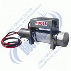 Лебедка автомобильная TOR S10000, 12 V, Тяг.ус.: 4536кгс., Lк=28м.