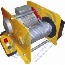 Лебедка электрическая EWH250 380В. Тяг.ус.: 0,25тс., Lк=60м.(с канатом)