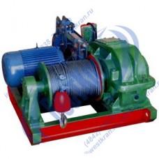 Лебедка электрическая JK5 380В (5,0тс, 220м) (с канатом)