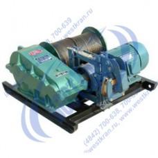 Лебедка электрическая JK3 380В (3,0тс, 230м) (с канатом)