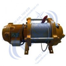 Лебедка электрическая KCD-300A 380В (0,3/0,6тс, 60/30м) (с канатом)