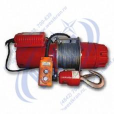 Лебедка электрическая KDJ-300E1 380В. Тяг.ус.: 0,3тс., Lк=30м.(с канатом)
