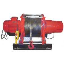Лебедка электрическая KDJ-500E1 380В (0,5тс, 100м) (с канатом)