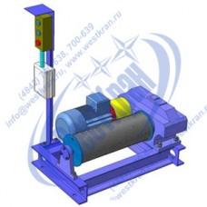 Лебедка электрическая ЛЭТ-0,25 380В. Тяг.ус.: 0,25тс., L=120м.(без каната)