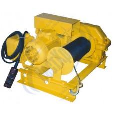 Лебедка электрическая ЛМ-0,25 380В. Тяг.ус.: 0,25тс., L=75м.(без каната)