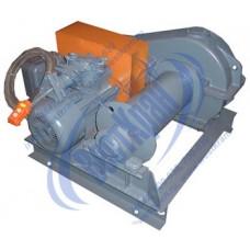 Лебедка электрическая ЛМ-0,5 380В (0,5тс, 90м) (без каната)