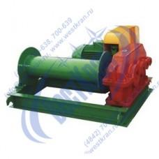Лебедка электрическая ЛМ-5 380В (5,0тс, 250м) (без каната)