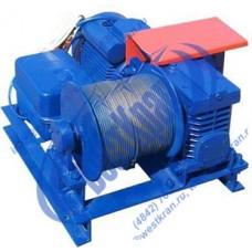 Лебедка электрическая ЛМЧ-0,25 380В. Тяг.ус.: 0,25тс., L=80м.(без каната)