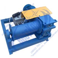 Лебедка электрическая ЛМЧ-0,5 380В (0,5тс, 80м) (без каната)
