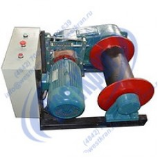 Лебедка электрическая ЛМм-1 380В (1,0тс, 220м) (без каната)