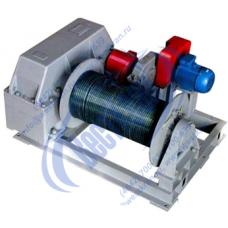 Лебедка электрическая ТЭЛ-10-1 380В (10,0тс, 250м) (без каната)