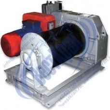 Лебедка электрическая ТЭЛ-3,2 380В (3,2тс, 250м) (без каната)