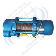Лебедка электрическая KCD-2000A-100 380В (1,0/2,0тс, 100/50м) (с канатом)