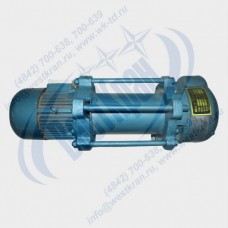 Лебедка электрическая KCD-2000A-200 380В (1,0/2,0тс, 200/100м) (с канатом)