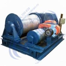 Лебедка электрическая ЛЭМ-10 380В (10,0тс, 250м) (без каната)