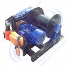 Лебедка электрическая ЛМм-3 380В (3,0тс, 200м) (без каната)