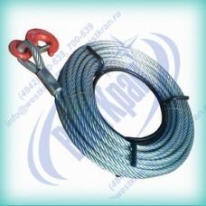 Канат к лебедке типа МТМ (JM, ZNL, QYQ и аналогов) (1,6т, 11мм, 40м)