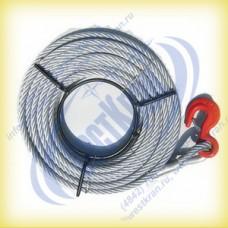 Канат к лебедке типа МТМ (JM, ZNL, QYQ и аналогов) (3,2т, 16мм, 40м)