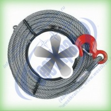 Канат к лебедке типа МТМ (JM, ZNL, QYQ и аналогов) г/п: 5,4т, d-20мм., L=100м