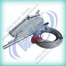 Лебедка ручная рычажная ZNL-1,6 (МТМ-1,6) 1,6тс, L=20м