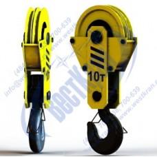 Подвеска крюковая крановая ПКК-2-10-406