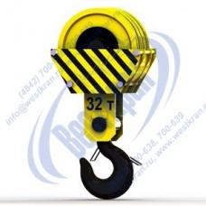 Подвеска крюковая крановая ПКК-4-32-610