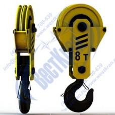 Подвеска крюковая крановая ПКК-2-8-406