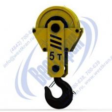 Подвеска крюковая крановая ПКК-2-5-406