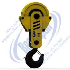 Подвеска крюковая крановая ПКК-2-8-500