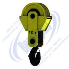 Подвеска крановая трехрольная ПКК-3-10-336 г/п 10 тонн