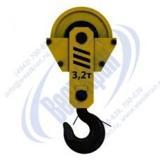 Подвеска крюковая крановая ПКК-1-3,2-336