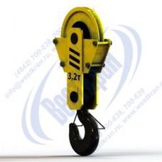Подвеска крановая однорольная ПКК-1-3,2-500 г/п 3,2 тонны