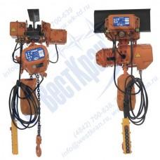 Таль электрическая цепная ПЕРЕДВИЖНАЯ ТЭЦп-0,5-12,0 (г/п 0,5 тонны, Вп 12м)