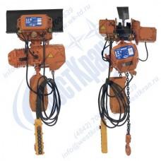 Таль электрическая цепная передвижная ТЭЦп-0,5-6,0 (г/п 0,5 тонны, Вп 6м)