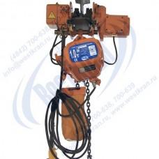 Таль электрическая цепная передвижная ТЭЦп-1,0-12,0 (г/п 1 тонна, Вп 12м)
